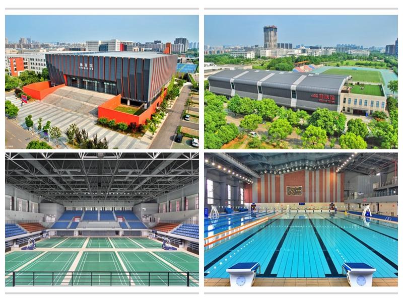 将军路校区体育馆和游泳馆建设成果